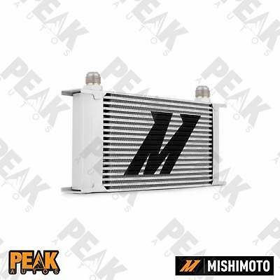 Mishimoto Universal 19 Row Oil Cooler -10AN Fittings SILVER