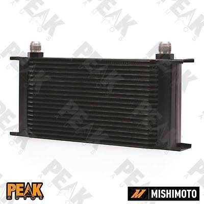 Mishimoto Universal 19 Row Oil Cooler -10AN Fittings BLACK