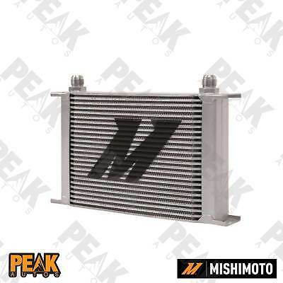 Mishimoto Universal 25 Row Oil Cooler -10AN Fittings SILVER