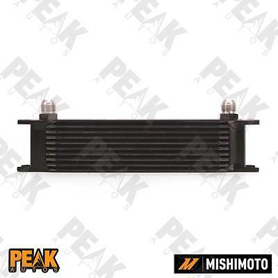 Mishimoto Universal 10 Row Oil Cooler -10AN Fittings BLACK