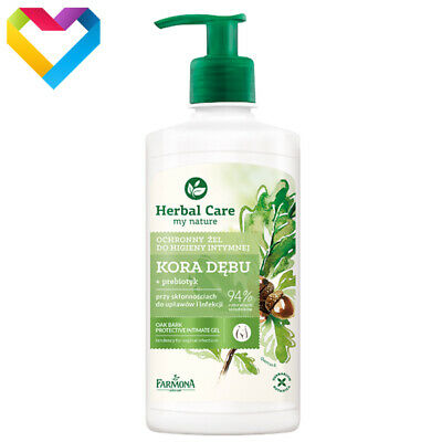 HERBAL CARE OAK BARK PROTECTIVE INTIMATE GEL 330ml HER2054