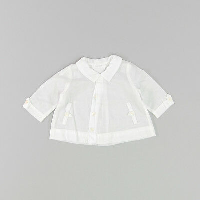 Camisa color Beige marca Bass10 3 Meses