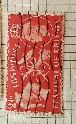 Festival Of Britain 1851-1951 Stamp