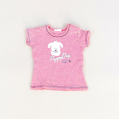 Camiseta color Rojo marca Benetton 0 Meses