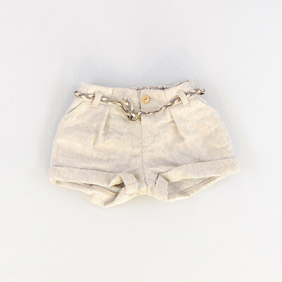 Short color Beige marca Zara 6 Meses