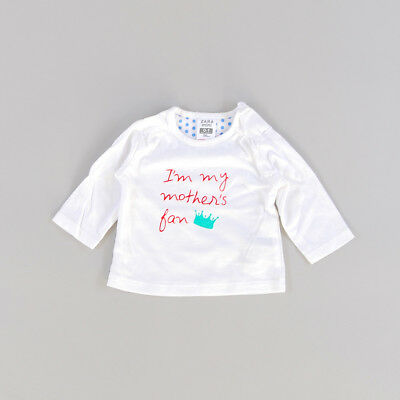 Camiseta color Blanco marca Zara 0 Meses