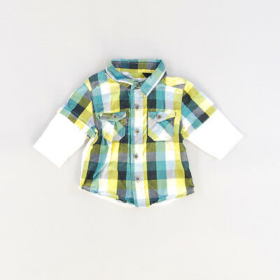 Camisa color Verde marca Kitchoun 1 Mes
