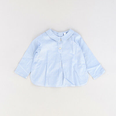Camisa color Azul marca Tex 6 Meses