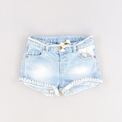 Short color Denim claro marca Zara 9 Meses