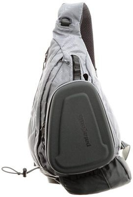 Patagonia's Stealth Atom fly fishing sling- Grey
