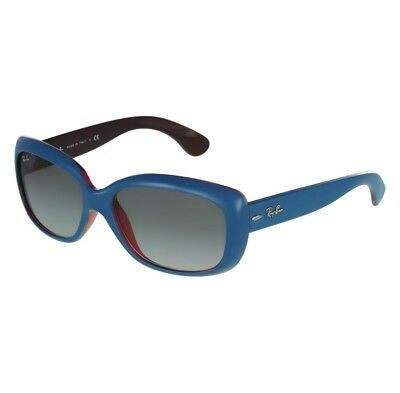 Ray Ban Jackie Ohh RB4101 6133/11 58 Blue Frame / Grey Lenses