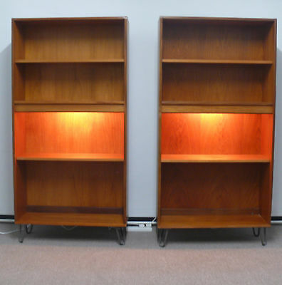Vintage Retro G Plan Tall Unit Display Cabinet Teak Bookcase Danish 1960s 1970s
