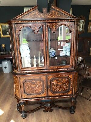 Late 18th early 19th Century Dutch Marquetry Cabinet