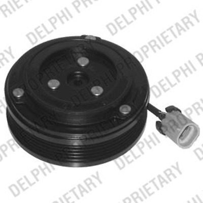 Magnetic Coupling Air Conditioning Compressor Vauxhall - Delphi 0165010/0