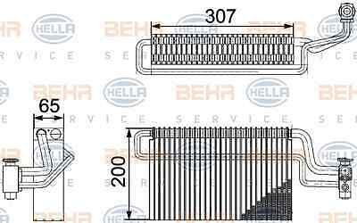 Evaporator Air Conditioning Man - Hella 8FV 351 336-111