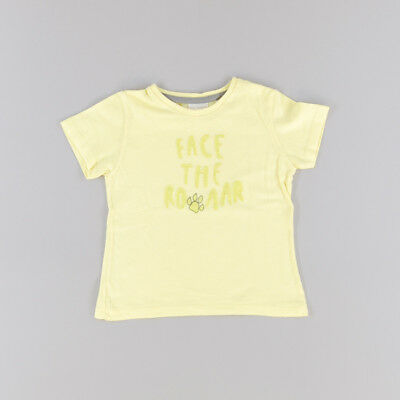 Camiseta color Amarillo marca Zara 12 Meses