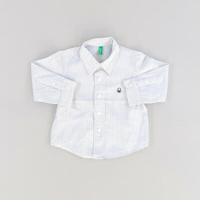 Camisa color Blanco marca Benetton 9 Meses