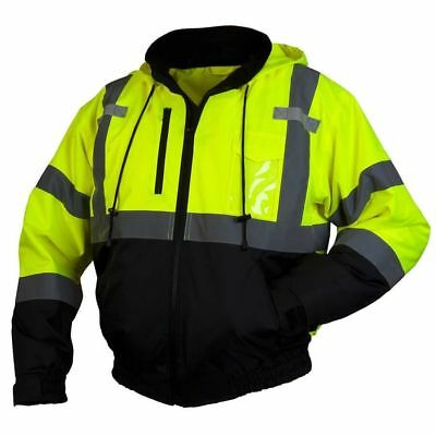 Hi-Vis Pyramex Lumen-X RJ31 Class 3 Safety Jacket with Zip-out Liner