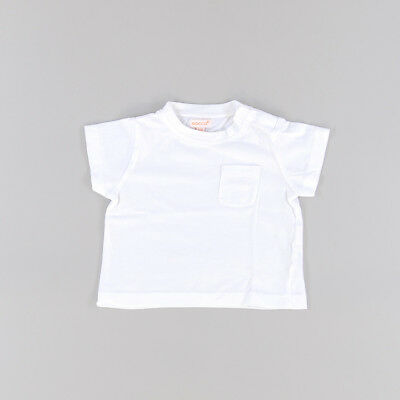 Camiseta color Blanco marca Gocco 6 Meses