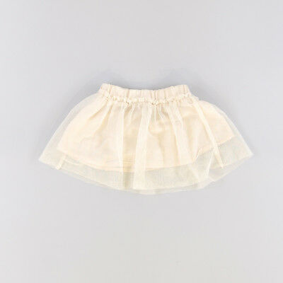 Falda color Beige marca Benetton 12 Meses