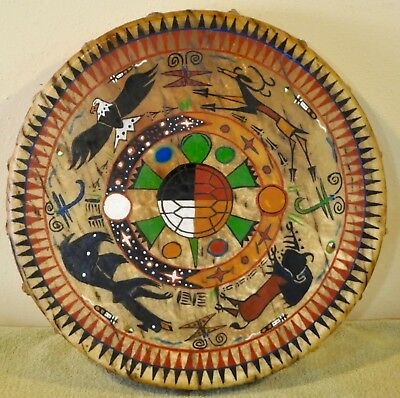 A Prayer For Mother Earth/ Painted by Lakota Artist Sonja Holy Eagle
