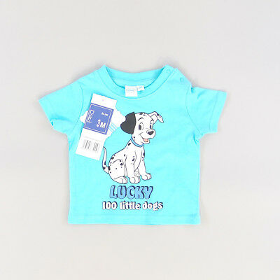 Camiseta color Azul marca Disney 3 Meses