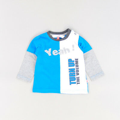 Camiseta color Azul marca Whoopi 6 Meses