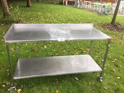 Stainless Steel 2 Tier Catering Table