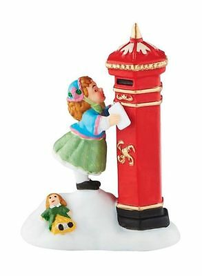"""Dept. 56 Dickens Village 40th Anniversary """"LETTERS TO SANTA"""" 4050934 New 2016"""