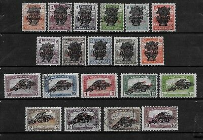 HUNGARY - 1920 Hungarian National Republic Overprints Complete Set - VFU