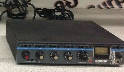 Shure Professional Microphone mixer Model M267  *used*