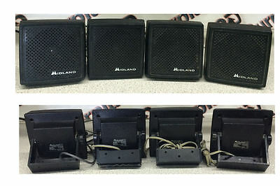 Midland 70-2353A Extension Speaker Lot of 4