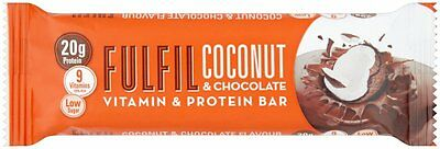 60 x 55g Fulfil Protein Bars with Vitamins Chocolate coconut