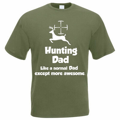 Funny Hunter Gift T-Shirt - HUNTING DAD - Shooting Gift Idea / Father's Day Gift