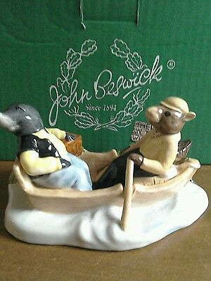 Beswick On The River, limited edition no 37/1908 mint.