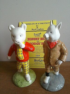 Beswick Rupert Bear & Podgy Pig 1563/1920 limited edition, mint condition