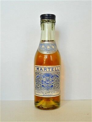 Mini Bottle Cognac Martell *** Old (1) 3 Cl Miniature