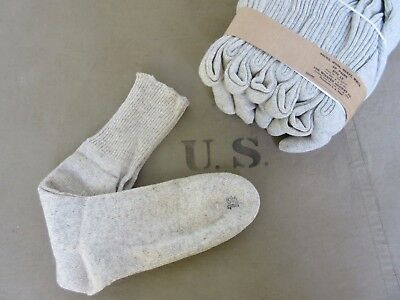 US Army Wollsocken Wool Socks Original 1944 Heavy QM Navy Marines USMC WK2 WWII