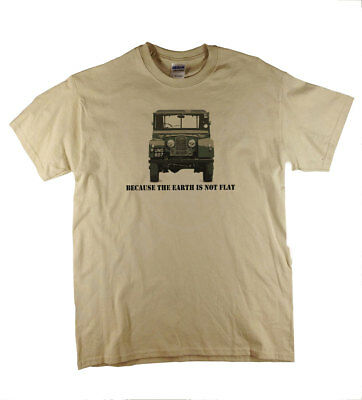 Land Rover Earth Design Shirt 4 x4 Four By Four Off Road  T-Shirt Ideal Gift