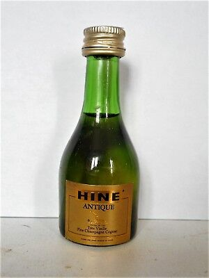 Mini Bottle Cognac Hine Antique 3 Cl Miniature