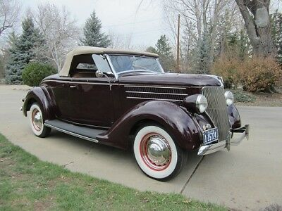 1936 Ford Model 68 Deluxe 1936 FORD ROADSTER (DEARBORN WINNER), RUMBLE SEAT, RADIO