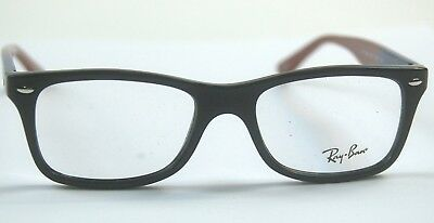 96130bf232c9 NEW RAY-BAN EYEGLASS Frames RB5228 5544 50-17-140 w Case CLOSEOUT ...