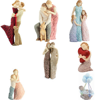 More Than Words Figurines Ornaments Love, Family, Friendship Arora Design