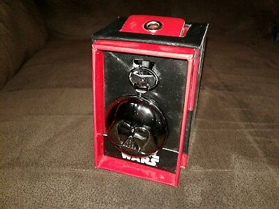 Star Wars Darth Vader Pocket Watch Rare Collectible Movie Memorabilia Disney HTF
