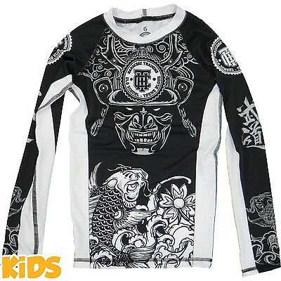 Kids Rashguard Hardcore Training Koi Niño Compresión superior MMA Fitness