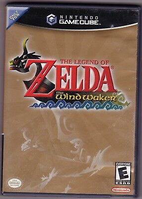 Legend of Zelda: The Wind Waker (Nintendo GameCube, 2003) game Complete