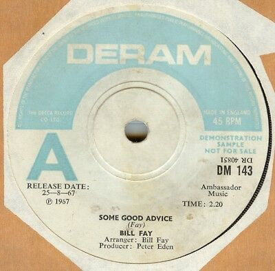 Bill Fay***some Good Advice***demo***psych***listen To It