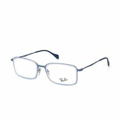 Ray Ban Highstreet Eyeglasses RX6298 2755 53 Light Blue Frame / Demo Lenses