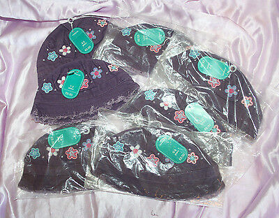 Joblot of 7 BNWT Mothercare cute purple hats, great for resale, £5 each new