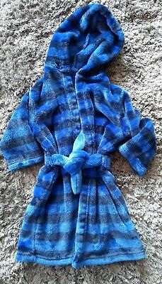 boys dressing gown - 18-24 months - marks and spencers